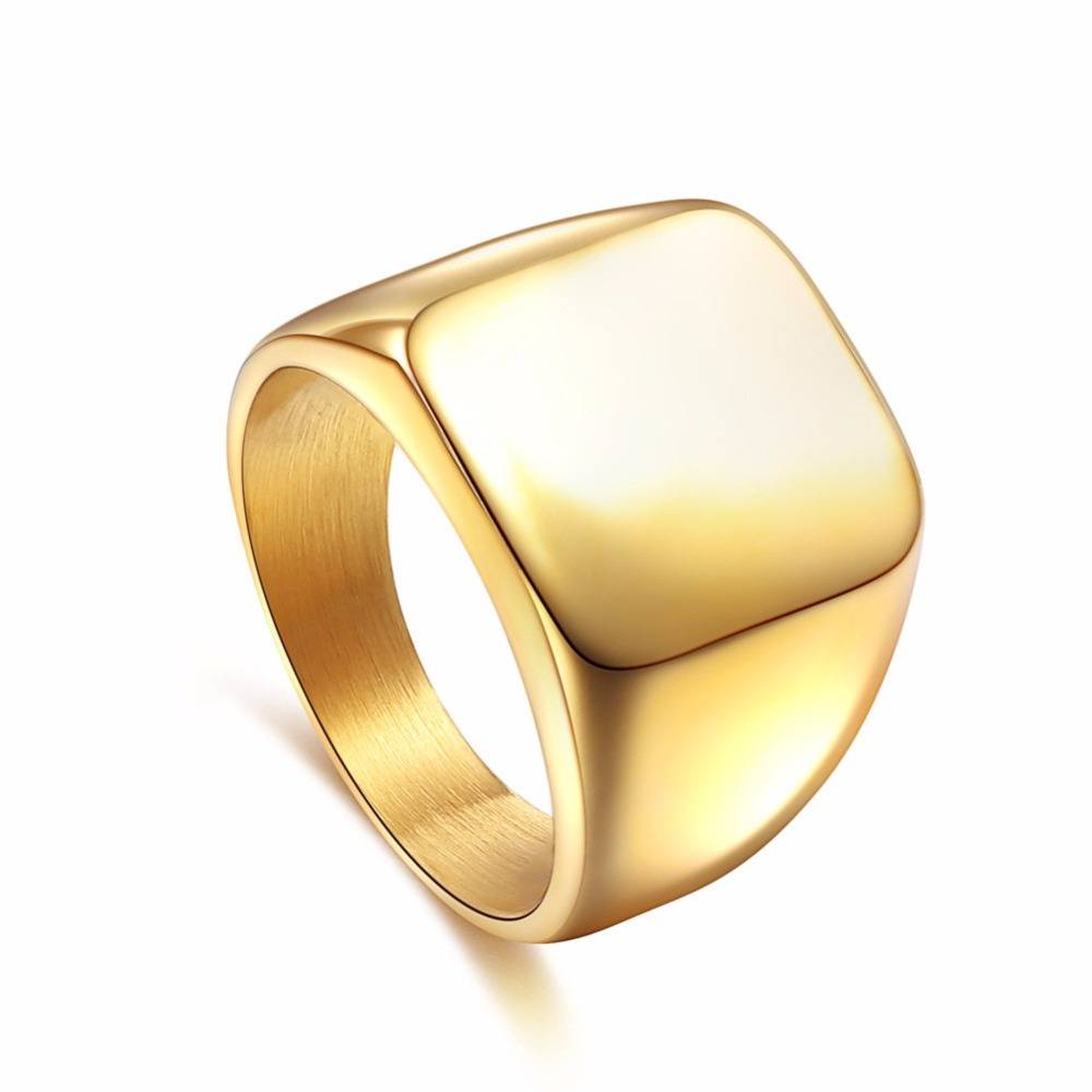 KYRIE – Men's Square Width Ring