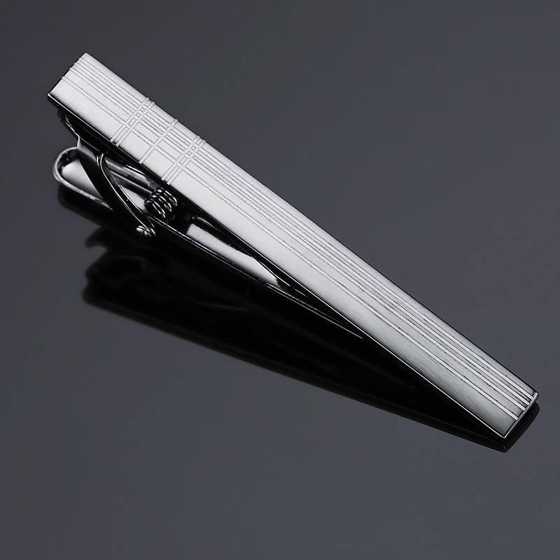 CALVIN – Stainless Steel Necktie Clips for Men