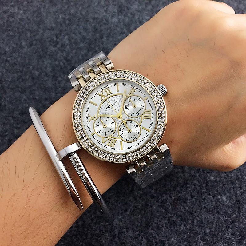 SHIRLEY – Luxury Rhinestone Women's Watches